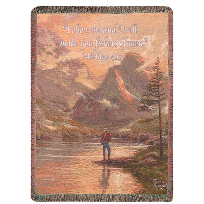 Manual Woodworkers & Weavers Almost Heaven Tapestry Throw