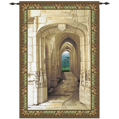 Manual Woodworkers & Weavers Garden Archway Tapestry