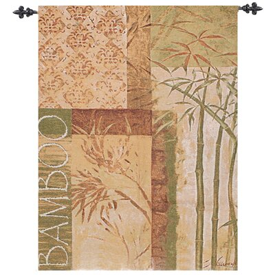 Manual Woodworkers & Weavers Bamboo Tapestry