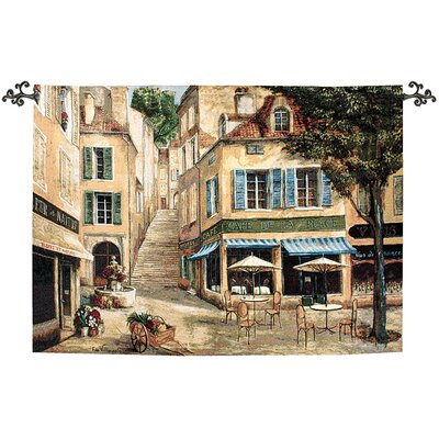 Manual Woodworkers & Weavers Cafe De La Place Tapestry