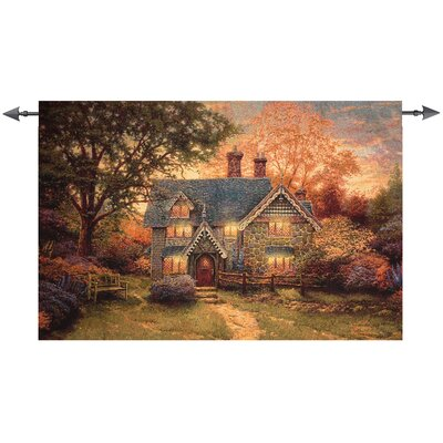 Gingerbreak Cottage Tapestry
