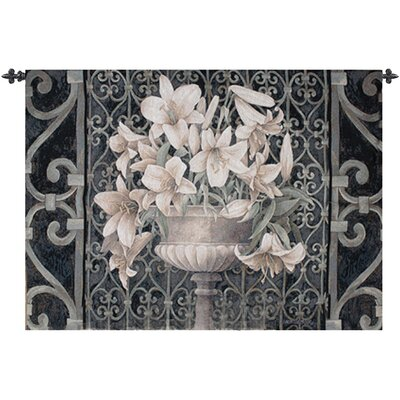 Manual Woodworkers & Weavers Lilies in Urn Tapestry