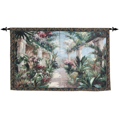 Manual Woodworkers & Weavers Garden Charm Tapestry