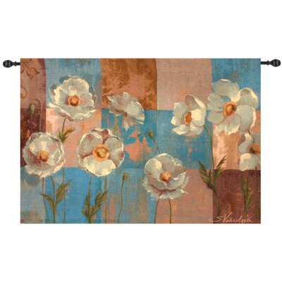Manual Woodworkers & Weavers Whispering Flower Tapestry