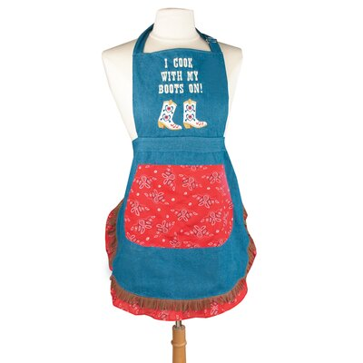 Manual Woodworkers & Weavers I Cook with My Boots on! Apron