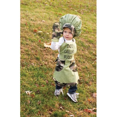 Manual Woodworkers & Weavers Izzy Lil Grill Buddy Child's Apron