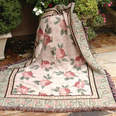 Warm Embrace Tapestry Cotton Throw