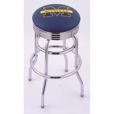 Holland Bar Stool Logo Series Bar Stool with Ribbed Ring