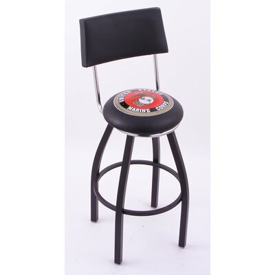 Holland Bar Stool Logo Series Bar Stool with Back