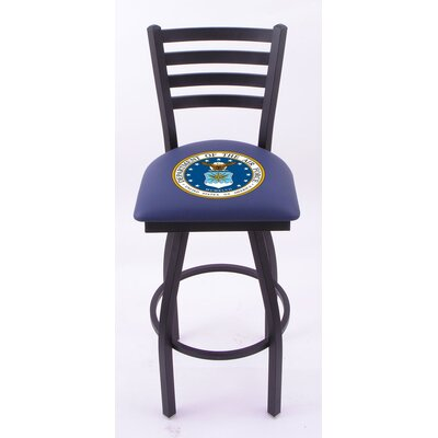 US Military Ladder-Back Barstool