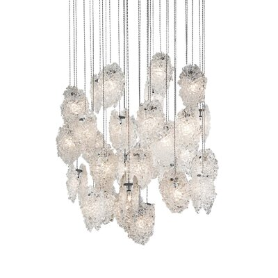 Light In Art Quartz Crystal Chandelier