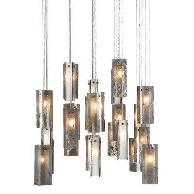 Light In Art by Shimal'e Peleg Drops 25 Light Chandelier