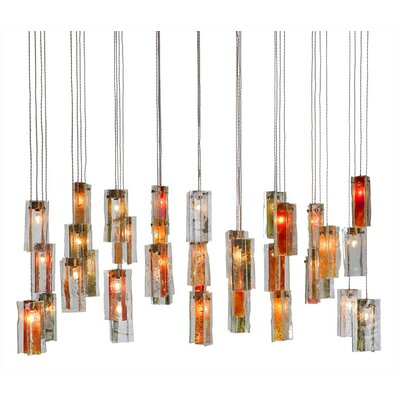 Light In Art by Shimal'e Peleg Drops 36 Light Chandelier