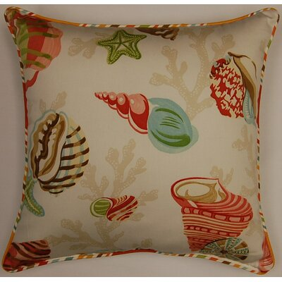 Coral Bay Cord Shell Cotton Pillow (Set of 2)