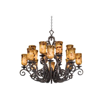 Kalco Ibiza 16 Light Chandelier