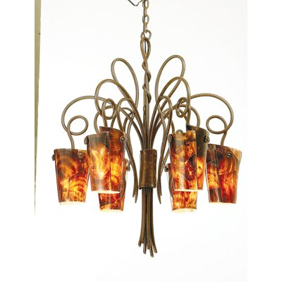 Kalco Tribecca 6 Light Chandelier