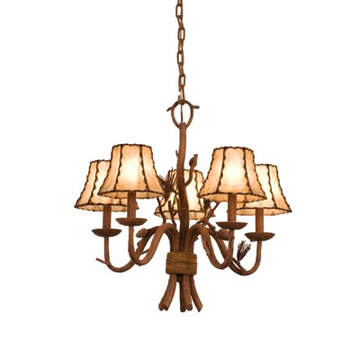 Kalco Ponderosa 5 Light Chandelier