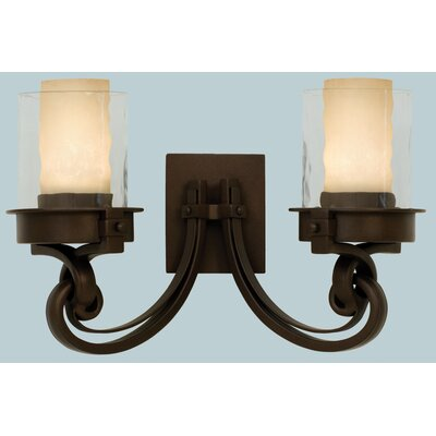 Kalco Newport  2 Light Bath Vanity Light