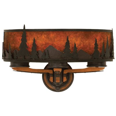 Kalco Aspen 3 Light Wall Sconce