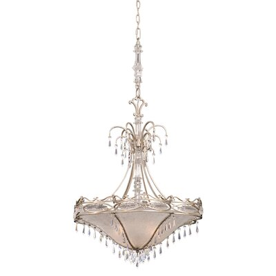 Kalco Surrey 3 Light Bowl Inverted Pendant