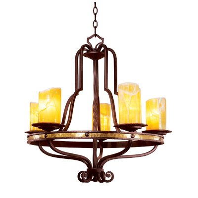 Durango 5 Light Chandelier
