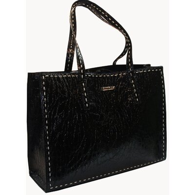 Rampage Patent Croc Laptop Brief Tote