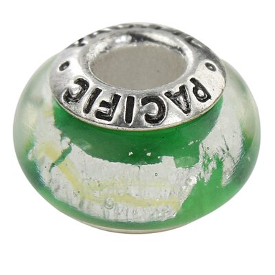 West Coast Jewelry Pacific 925 Murano Buena Vista Glass Bead