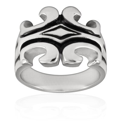 West Coast Jewelry Stainless Steel Gothic Ring
