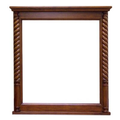 Legion Furniture Vanity Mirror in Light Walnut