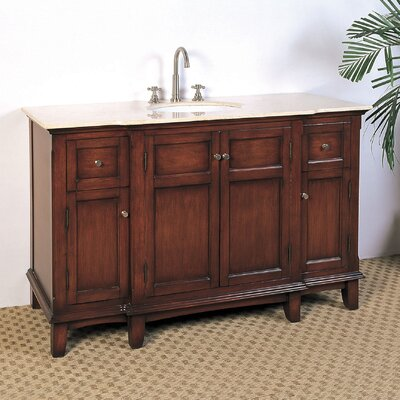"Legion Furniture 53"" Hatherleigh Sink Chest Vanity Set"