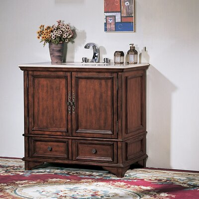 "Legion Furniture 38"" Folksum Sink Chest Vanity Set"