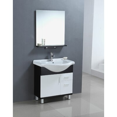 Single 30 bathroom vanity set wayfair - Wayfair furniture bathroom vanities ...