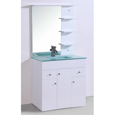 "Legion Furniture 31.5"" Sink Vanity Set with Mirror"