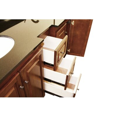 """Legion Furniture 61"""" Double Sink Vanity Set with Soft Close Doors"""