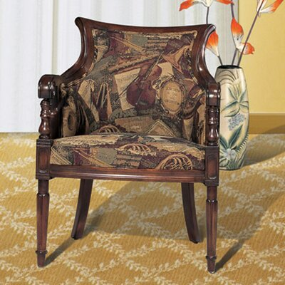 Legion Furniture Windsor Accent Music Fabric Arm Chair
