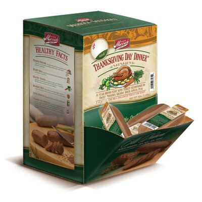 Merrick Pet Care Thanksgiving Day Dinner Sausage Dog Treat (Case of 34)
