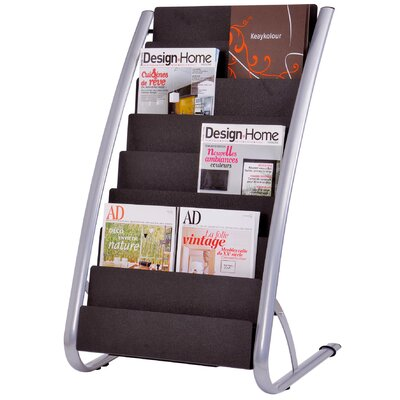 Alba 8 Level Floor Literature Display Rack