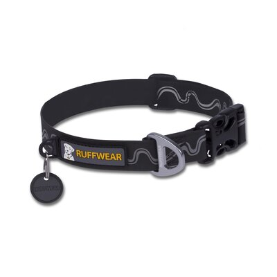 RuffWear Headwater™ Stink-Proof Dog Collar in Obsidian Black