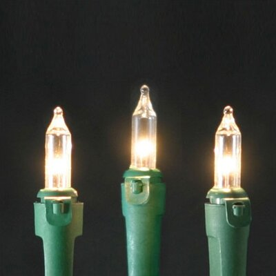 Parallel Circuit Commercial Grade Mini String Lights (17.5 Ft.)