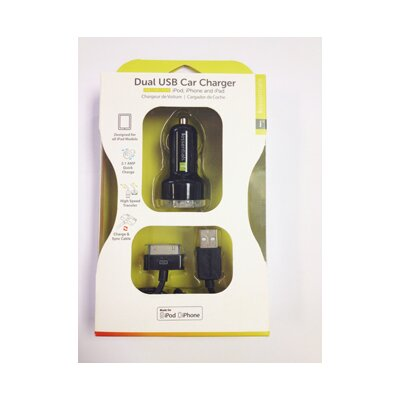 iessentials Dual USB Car Charger