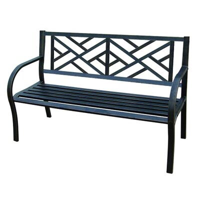 Jordan Manufacturing Vine Metal Garden Bench Reviews Wayfair