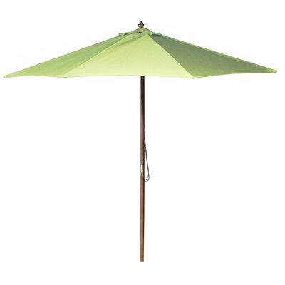 Jordan Manufacturing 9' Wooden Market Umbrella
