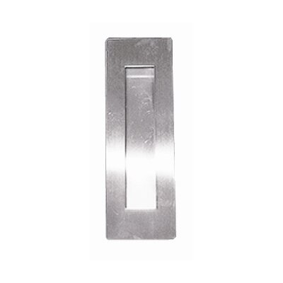 INOX® Rectangular Pocket Cup Pull with Oblong Opening