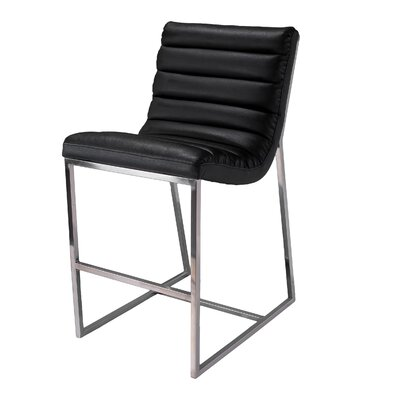 Home Loft Concept Parisian Leather Barstool