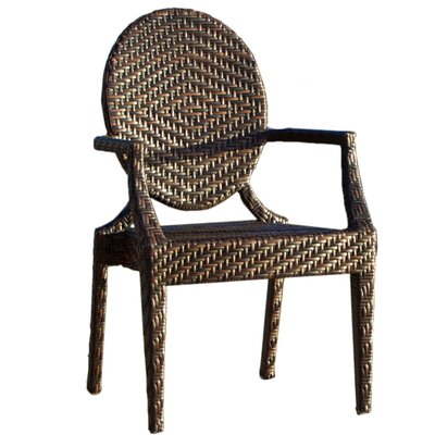 Home Loft Concept Adriana Polyethylene Wicker Outdoor Chair