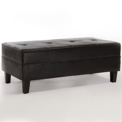 Cheshire Bonded Leather Bench Ottoman