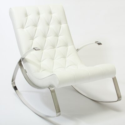 Tufted Rocking Chair