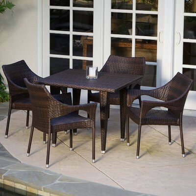 Home Loft Concept Cliff 5 Piece Dining Set