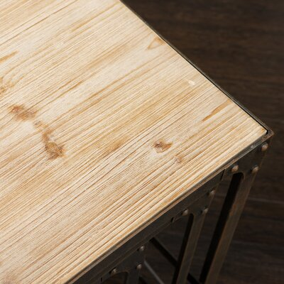 Home Loft Concept Milford Weathered Wood Tables (Set of 3)