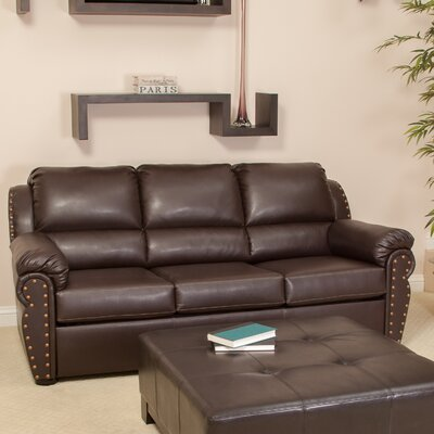 Home Loft Concept Hadley Leather Sleeper Sofa